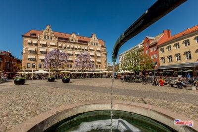 Malmö und der Schweden-Länderpunkt von Kopenhagen aus