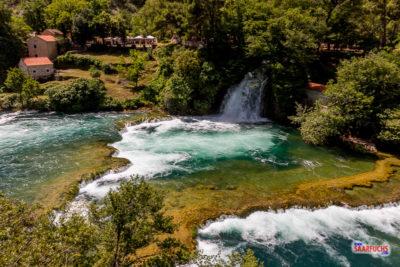 Geoaching & Sightseeing im Krka-Nationalpark, in Šibenik und Trogir