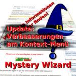Mystery-Wizard: Kontext-Menü Verbesserungen