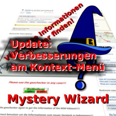 "Titelbild zum Artikel ""Mystery-Wizard: Kontext-Menü Verbesserungen"""