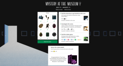 """Meine Gedanken zu """"Mystery at the museum"""""""
