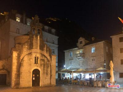 Kleine Kirche in der Altstadt von Kotor