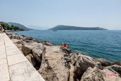 Geocaching am Hafen von Herceg-Novi