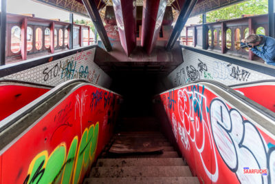 LP: Le métro fantôme in Charleroi (Belgien)