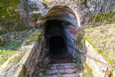 Eingang zum Keller der Ramburg