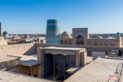 Geocaching und Sightseeing in Usbekistan: Khiva - im Orient angekommen