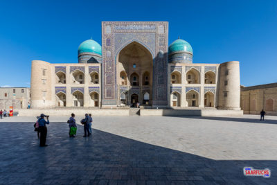 Geocaching und Sightseeing in Usbekistan: 1001 Nacht in Buchara (1/2)