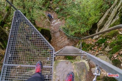 Layensteig Strimmiger Berg - 14km, 3 Klettersteige und 8 Dosen