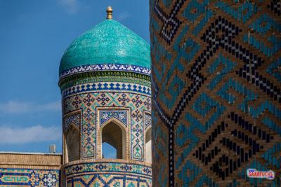 Geocaching und Sightseeing in Usbekistan: Samarkand - die Perle des Orients (1/2)
