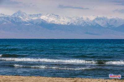 Geocaching und Sightseeing in Kirgistan: Rund um den Yssykköl