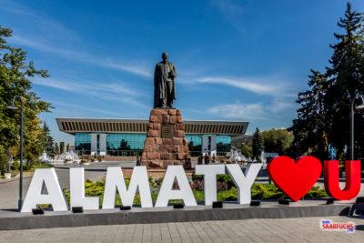 Geocaching und Sightseeing in Kasachstan: Almaty und die Berge