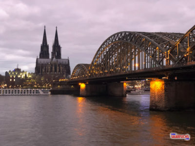 Geocaching & Sightseeing - Kurzbesuch in Köln