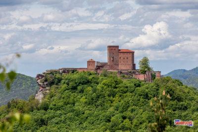 Geocaching & Wandern: Slevogtweg mit Burgen und Aussichten