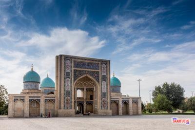 Geocaching und Sightseeing in Usbekistan: Taschkent - die neue Hauptstadt