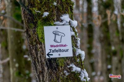 Geocaching & Wandern: Die Wadrilltal-Tafeltour im Schnee
