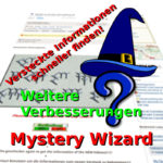 Mystery-Wizard: Weitere Verbesserungen - nun wieder mit GClh II kompatibel!
