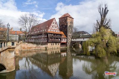 Geocaching in der historischen Altstadt von Nürnberg