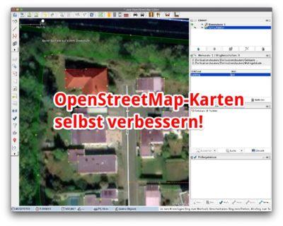 OpenStreetMap-Karten selbst verbessern mit JOSM