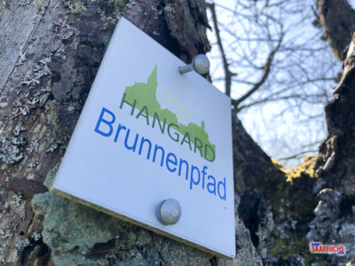Geocaching & Wandern: Der Hangard Brunnenpfad