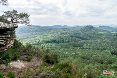 Geocaching & Wandern: Dimbacher Buntsandstein Höhenweg