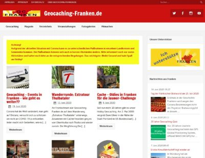 Geocaching-Franken (Blogvorstellung)