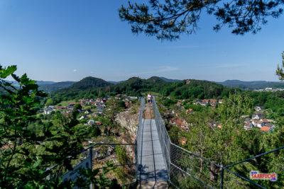 Geocaching & Wandern:  Hahnfels-Tour