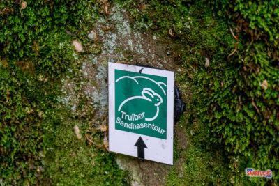 Geocaching & Wandern:  Trulber Sandhasentour