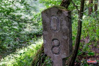 """Geocaching-Tour zum """"Das Opfer des Bahnarbeiters"""""""
