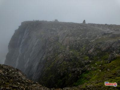 T5-Geocaching auf dem Ben Nevis in Schottland