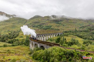 Schottland - Von Fort William auf die Insel Skye