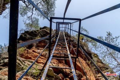 Wandermulti: Lanzenfahrter Fels, Burghalder Fels und Felsentor