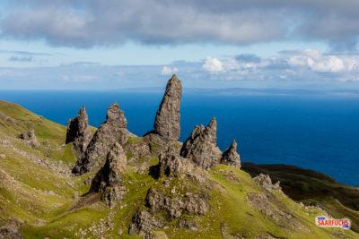 Schottland - Bergtour zum Old Man of Storr und weiter auf den Storr