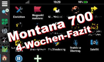 Garmin Montana 700 – Bedienung, Geocaching und 4-Wochen-Fazit
