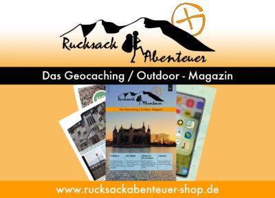 Rucksackabenteuer - Ein neues Geocaching-Magazin erscheint!
