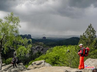 Geocaching & Wandern: Rund um den Carolafelsen