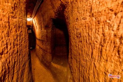 Geocaching & Sightseeing: Der Brunnenstollen von Burg Lemberg