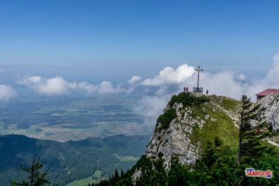 Eine einfache Bergtour auf den Hochfelln