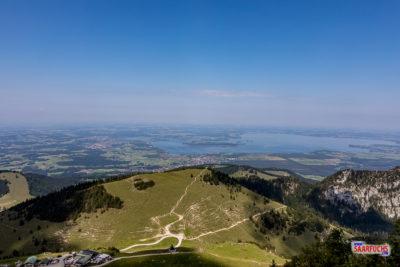 Eine Woche Geocaching, Bergtouren und Sightseeing im Chiemgau