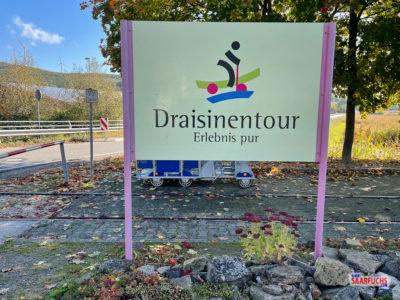 Draisinentour mit Geocaching